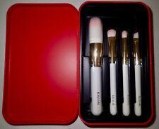 (Korean made) KISSME 4Pcs MakeUp Brush Kit (High Quality With Case)