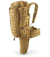 Desert Tan Tactical Assult Back Back Pack, Military Army type Rifle Gun Bag