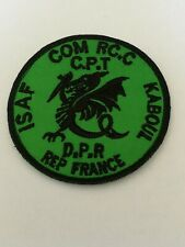 Insigne tissu Patch forces spéciales 1 RPIMA fabrication locale Afghanistan