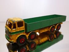 DINKY SUPER TOYS  - LEYLAND OCTOPUS  GREEN   YELLOW   934  - GOOD CONDITION