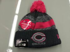 Chicago Bears Knit Breast Cancer BCA New Era Hat Cap Toque Beanie Player NFL