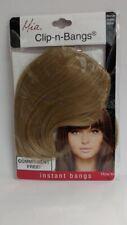 Mia Clip-n-Bangs Instant Bangs! Synthetic/Faux Hair, Blonde