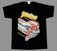 JUDAS PRIEST TURBO  SHORT/LONG SLEEVE NEW BLACK T-SHIRT