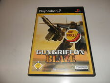 PlayStation 2  PS 2  Gungriffon Blaze (4) Hot Price