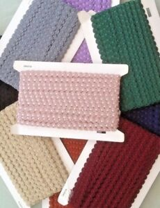 1 x metre Narrow Braid/Decorative Trim 13mm wide,Blinds,Cushions,Curtains,Fringe