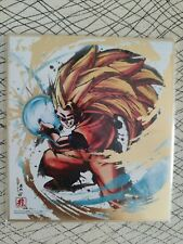 DRAGONBALL SHIKISHI GOLD PART SPECIAL SONG GOKU SUPER SAIYAN 3 2019 BANDAI JAPAN