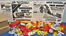"""1950's Shredded Wheat ~ Premium """"Free Inside� Prize Toy Set ~ 144 Pieces"""