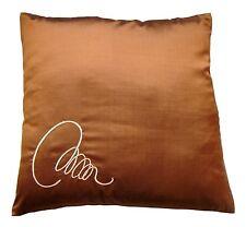 2 x 16'' 100% Thai Silk luxury cushion covers.