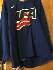 IIHF USA NIKE GAME WORN PRACTICE JERSEY