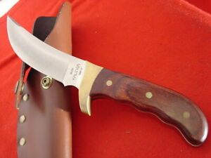 "Buck USA Made 10-1/8"" KALINGA Full Tang Fixed Blade Sheath Knife MINT"