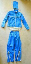 PERFORMANCE GORTEX BICYLE RAIN SUIT-LARGE-Blue