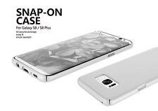 Samsung Galaxy S8 + PLUS White Slim Snap-On Shock Resistant Light Case USA Ship