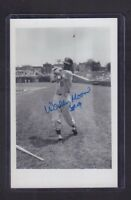 Wally Moon Autographed Signed 3 x 5 Photo 093017jh