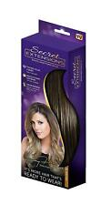Secret Extensions - Hair Extensions by Daisy Fuentes, 07 Medium Brown