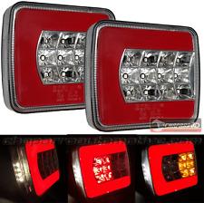 2x piloto LED HOMOLOGADO 4 funciones remolque, caravana, agricola