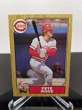 1987 Topps #200 Pete Rose NM