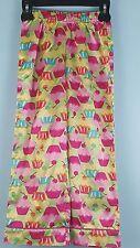 Candie's Girls 6 Cupcake Pajama Pants Pjs Sleepwear Flame Resistant EUC