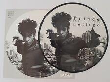 "PRINCE LETITGO UK 7"" PICTURE DISC vinyl W0260P"