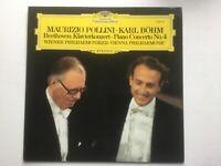Beethoven Vinyl Klavierkonzert No.4 Pollini Karl Böhm Wiener Philharmoniker LP