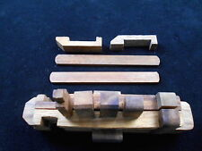 Kumiki Wood boat ship puzzle 15 pc brain teaser JUMBO