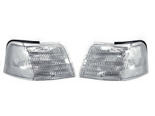 DEPO 89 90 91 92 93 94 95 FORD THUNDERBIRD / T-BIRD CHROME CLEAR CORNER LIGHTS