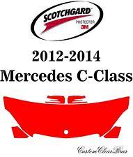 3M Scotchgard Paint Protection Film Clear Bra Pre-Cut Kits 2014 Mercedes C-Class