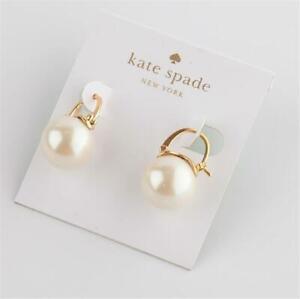 Kate Spade New York Shine On Bauble Cream Drop Earrings
