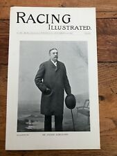 More details for  1896 print from racing illustrated - mr pierre lorillard & bruntwood stud