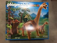 Playmobil 5231 Brachiosaurus with Baby Dinosaur from Dinos series New in Box!