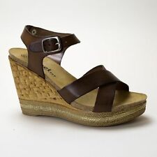 Wedge Standard (D) Width 100% Leather Shoes for Women