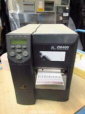 Zebra Z4M Z4M00-0004-0000 DT/TT Thermal Label Printer Parallel - ZM400 COVER!