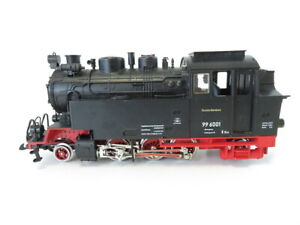 (LG01) LGB 2080 D Spur G DC Dampflok BR 99 6001 Harz Querbahn OVP