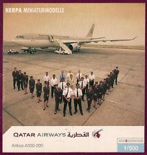 HERPA 508537 (1/500e): Airbus A330-200 (Qatar Airways)