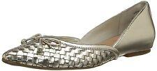 Sperry Morgan Platinum Woven Women Shoes SZ 5 M