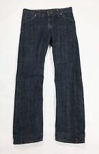 Levis engineered w26 L32 tg 40 jeans dritti usati blu vintage boyfriend T1689