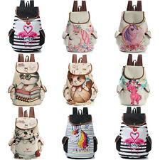 Girl Womens Travel Bookbags Cute Satchel Backpack Teenage School Bag Rucksack
