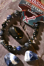 'SAGITTARIUS' Gemstone 'Power Bracelet' plus a free guide book & bookmark.