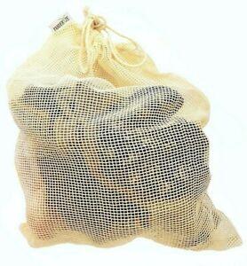 Laundry Bag Net Cotton Mesh Reusable Bra Socks Underwear Zero Waste Eco Friendly