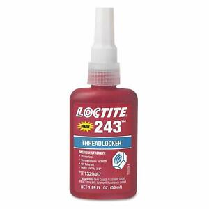Loctite 243 Threadlocker Medium Strength 50ml tube
