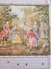 "RARE Vintage Belguim Tapestry Gobelins Jardin Louis XV motifs 1, 2 & 3, 20""x58"""