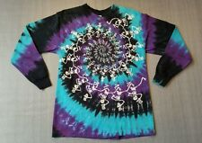 1990 Grateful Dead Long Sleve Shirt Skeleton Very Rare Tie Dye