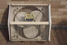 "Vintage Berns Air King 25"" 3 speed reversible Window Fan; Excellent"