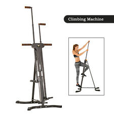 Merax Vertical Climber Exercise Folding Climbing Machine Stepper Cardio
