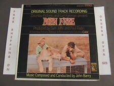 BORN FREE JOHN BARRY SOUNDTRACK LP SE-4368 STEREO