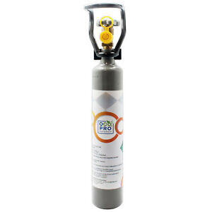 CO2 Mehrweg-Vorrats-Flasche 500g mit Cage Kohlensäure Neu