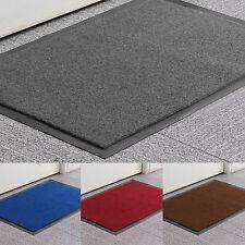 Multiple size Non Slip Rubber Door Mats Indoor Outdoor Washable Heavy Duty Rug