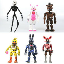 6 PCS Five Nights At Freddy's FNAF Bunnie Game Action Figure Doll Toys Gift