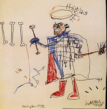 Jean Michel Basquiat Ribs,Ribs 1982 HD print on canvas huge wall picture 24x24""