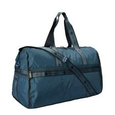 LeSportsac Solid Collection Pop LG Weekender Duffel Bag in Heritage Sky NWT