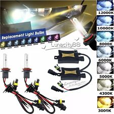 55W HID Xenon Headlight Bulbs Conversion KIT Car 12V H1 H3 H4 H7 H8/H9/H11 H4-3